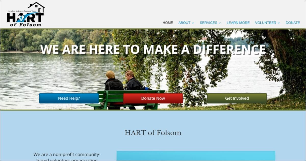 Homeless and Need Help?   HART of Folsom